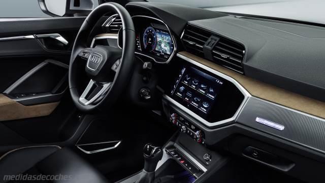 Audi Q >> Medidas Audi Q3 2019, maletero e interior