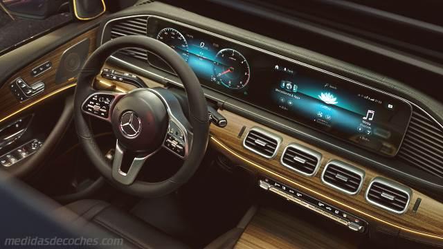 Range Rover Suv >> Medidas Mercedes-Benz GLE SUV 2019, maletero e interior