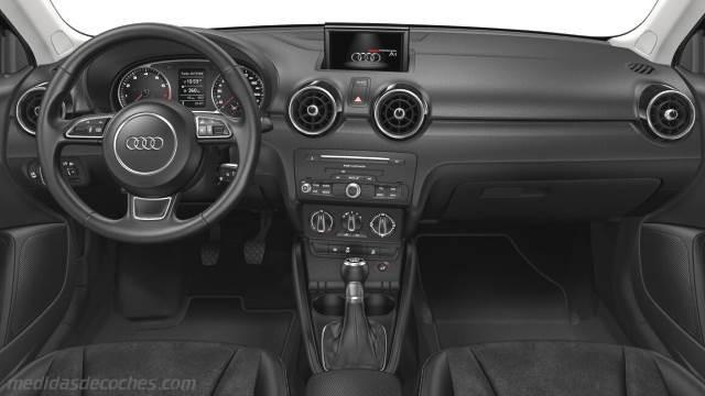 Medidas Audi A1 Sportback 2015 Maletero E Interior