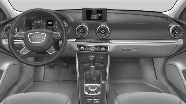 Medidas Audi A3 Sedan 2013 Maletero E Interior