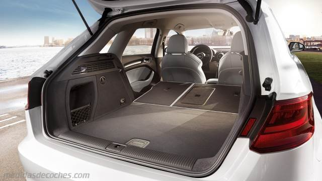 medidas audi a3 sportback 2013 maletero e interior. Black Bedroom Furniture Sets. Home Design Ideas