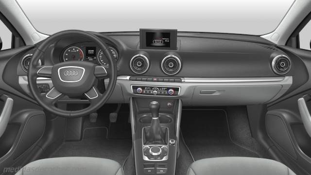 Medidas Audi A3 Sportback 2013 Maletero E Interior