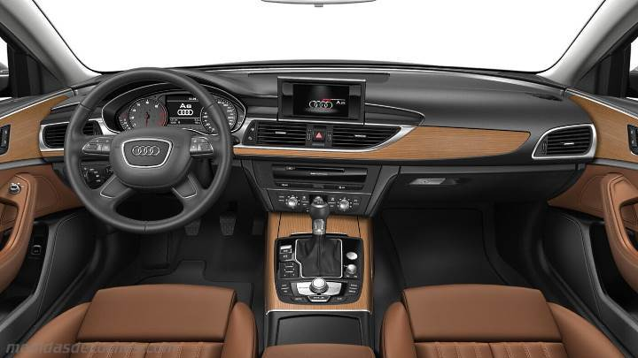Medidas Audi A6 2015 Maletero E Interior