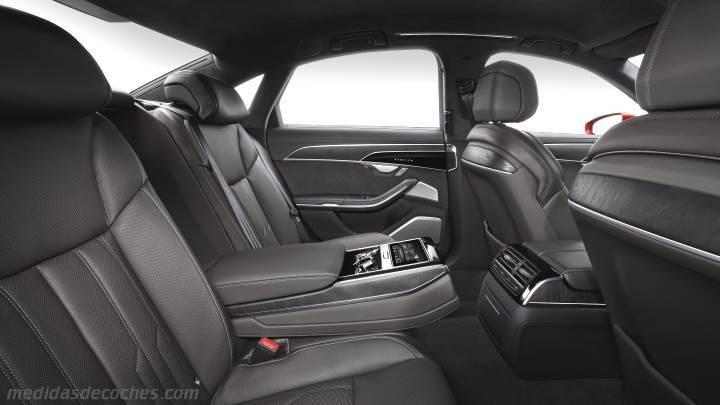 Medidas Audi A8 2018 Maletero E Interior