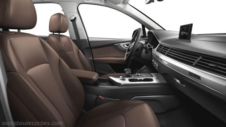 Interior Audi Q7 2015 Zoom