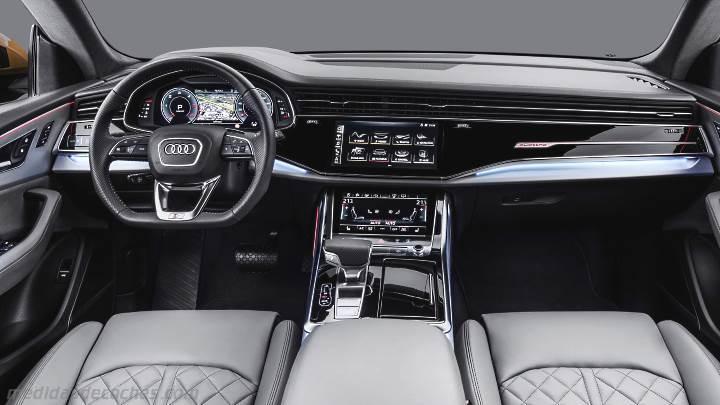 Medidas Audi Q8 2019 Maletero E Interior