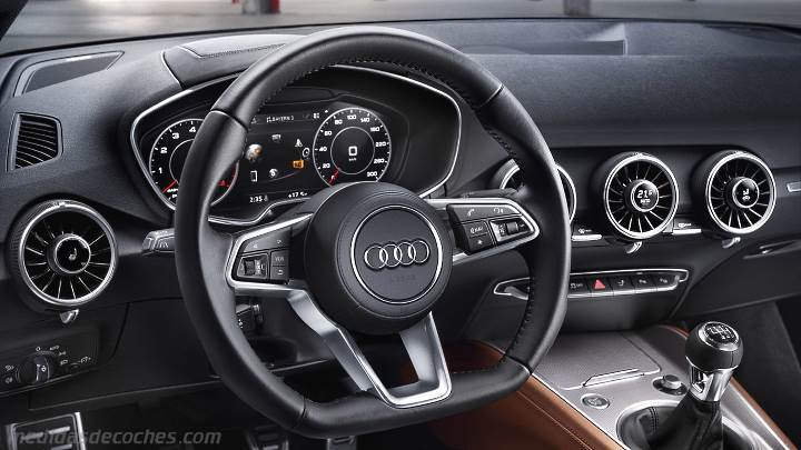 Medidas Audi TT Coupé 2019, maletero e interior