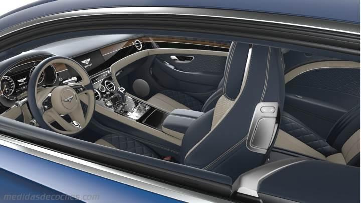 Imagenes De Mustang 2018 >> Medidas Bentley Continental GT 2018, maletero e interior