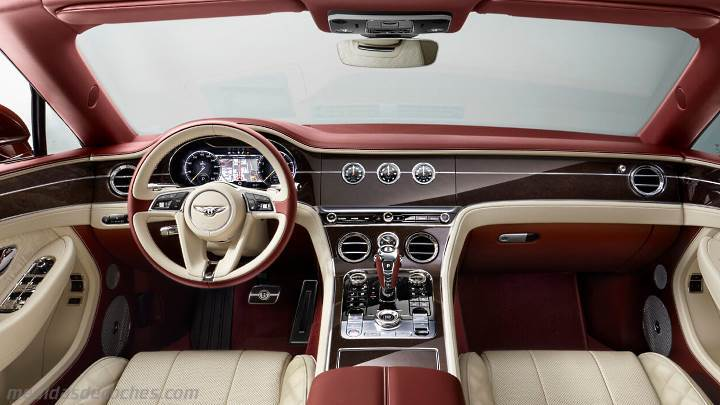 Medidas Bentley Continental GT Convertible 2019, maletero ...