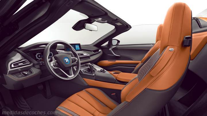 Interior BMW i8 Roadster 2018