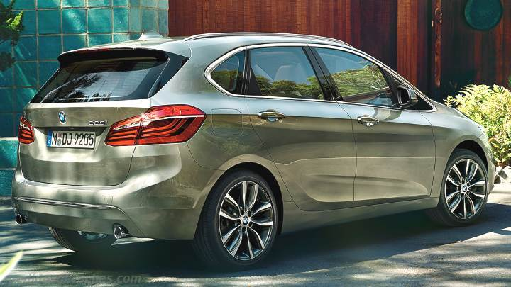 Maletero BMW Serie 2 Active Tourer 2014