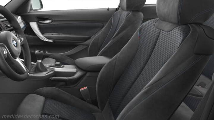 Interior BMW Serie 2 Coupé 2014
