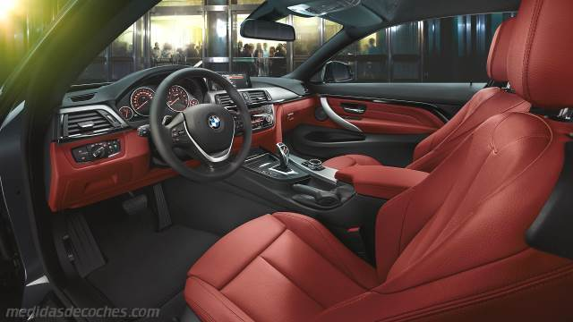 Interior BMW Serie 4 Coupé 2013