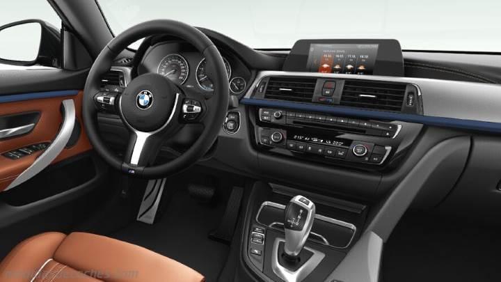 Medidas BMW Serie 4 Gran Coupé 2017, maletero e interior