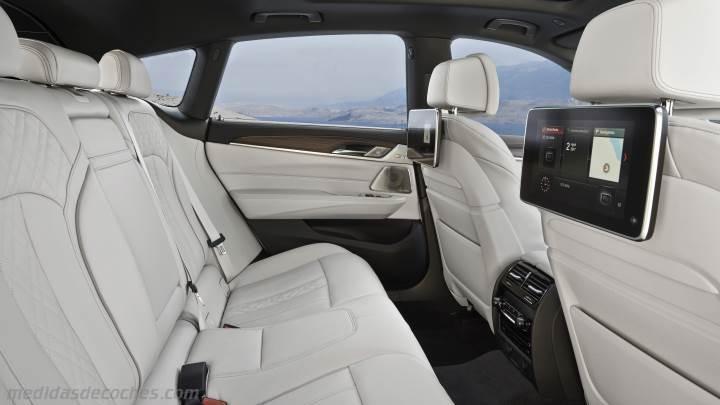 Medidas BMW Serie 6 Gran Turismo 2018, maletero e interior