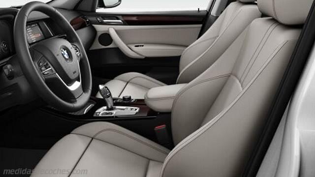 2017 Jeep Grand Cherokee >> Medidas BMW X3 2014, maletero e interior