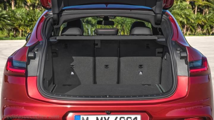 Medidas BMW X4 2018, maletero e interior