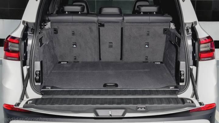 medidas bmw x2 2018 maletero e interior. Black Bedroom Furniture Sets. Home Design Ideas