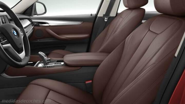 Medidas bmw x6 2015 maletero e interior for Interieur x6