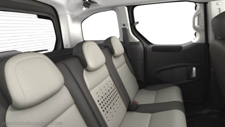 Interior Citroen Berlingo Multispace 2015