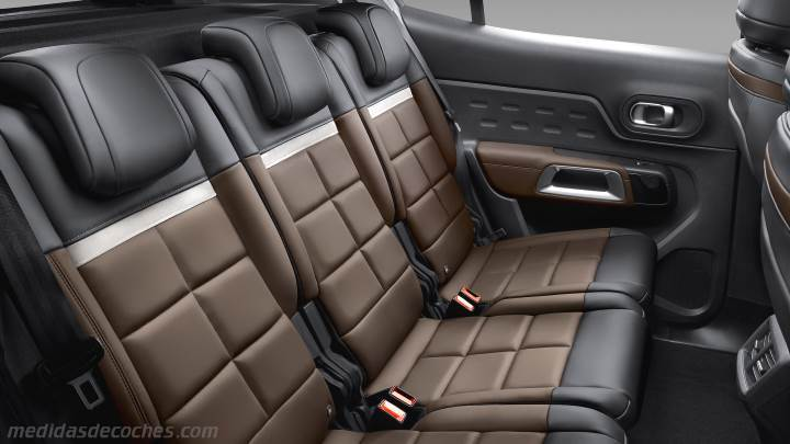 medidas citroen c5 aircross 2019 maletero e interior. Black Bedroom Furniture Sets. Home Design Ideas