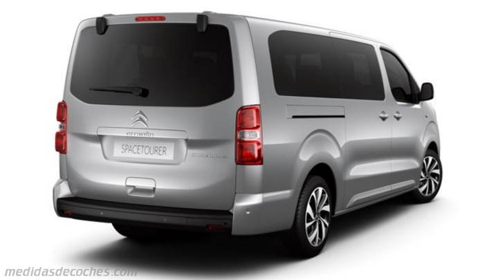 Maletero Citroen SpaceTourer XL 2016