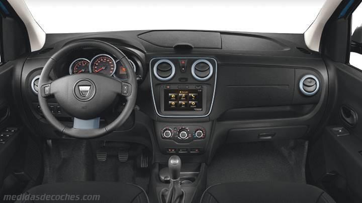 Mitsubishi Eclipse 2015 >> Medidas Dacia Lodgy Stepway 2015, maletero e interior