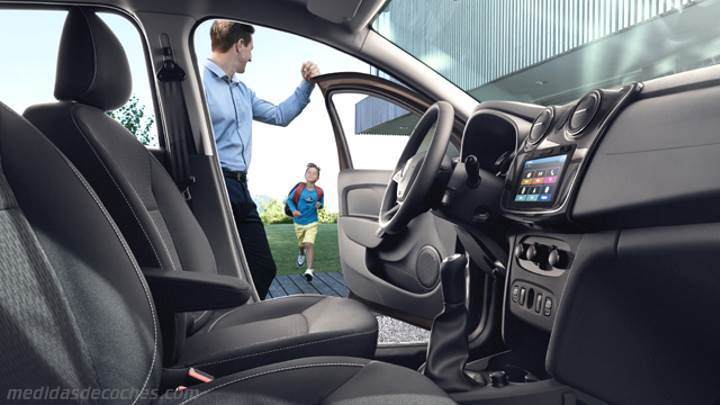 Medidas dacia logan 2017 maletero e interior - Dacia duster 2017 interior ...