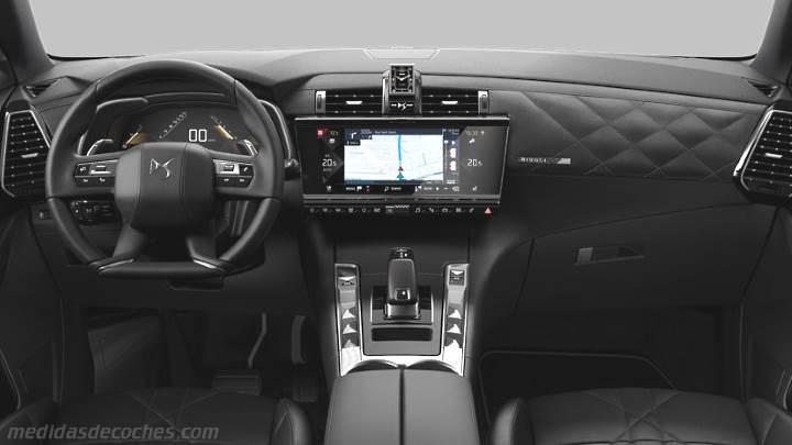 Medidas DS DS7 Crossback 2018, maletero e interior
