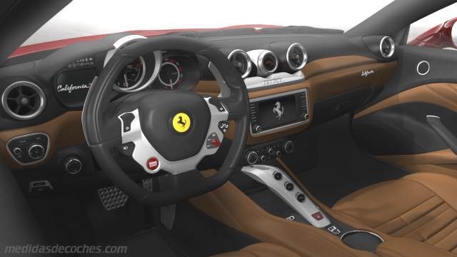 Medidas ferrari california t 2014 maletero e interior for Ferrari california t interieur
