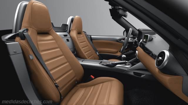 Medidas Fiat 124 Spider 2016 Maletero E Interior
