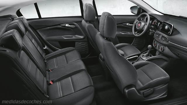 Medidas fiat tipo 5 puertas 2016 maletero e interior - Medidas puertas interior ...
