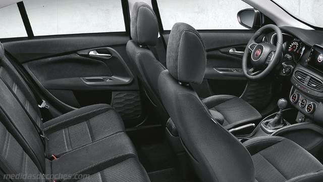 Medidas fiat tipo sw 2016 maletero e interior for Interior fiat tipo