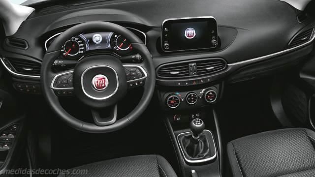 Medidas Fiat Tipo SW 2016, maletero e interior