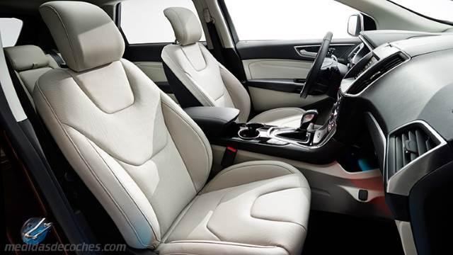 Medidas Ford Edge 2016 Maletero E Interior