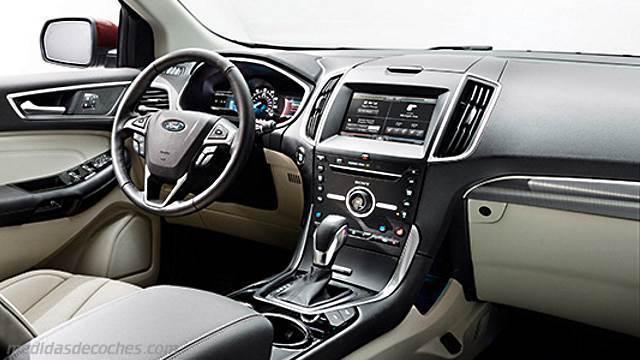 Medidas Ford Edge 2016, maletero e interior