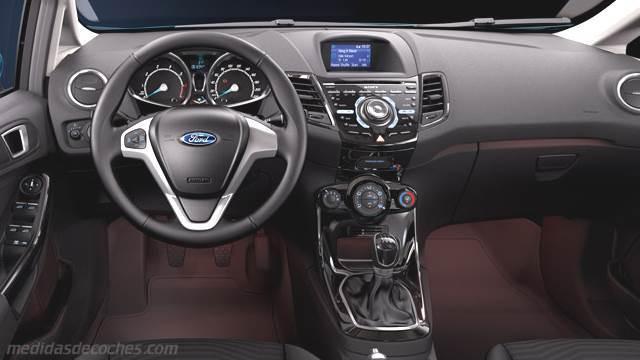 Medidas Ford Fiesta 2013 Maletero E Interior