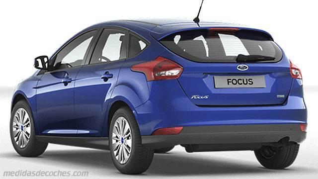 medidas ford focus 2015 maletero e interior