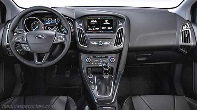 Medidas Ford Focus Sportbreak 2015 Maletero E Interior