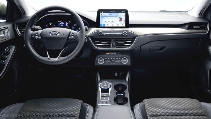 Medidas Ford Focus Sportbreak 2018, maletero e interior