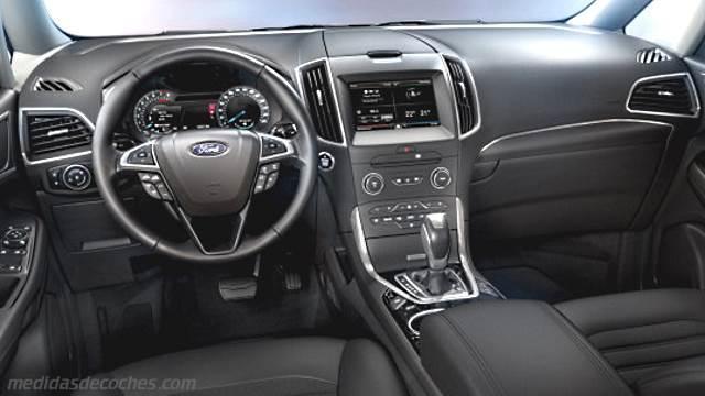 Medidas Ford Galaxy 2015 Maletero E Interior