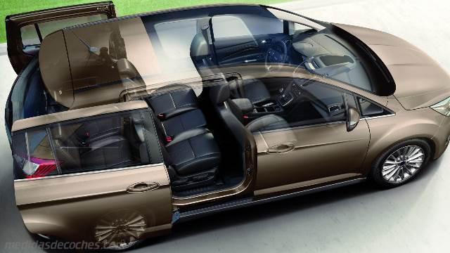 Medidas Ford Grand C Max 2015 Maletero E Interior