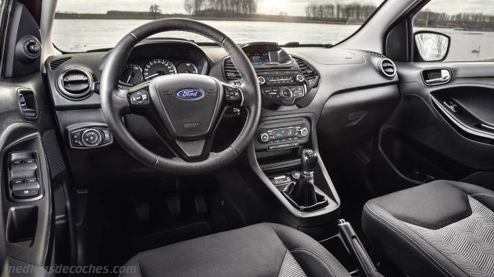 Medidas ford ka 2016 maletero e interior - Interior ford ka ...