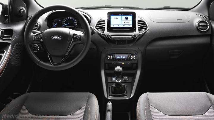 medidas ford ka active 2018 maletero e interior. Black Bedroom Furniture Sets. Home Design Ideas