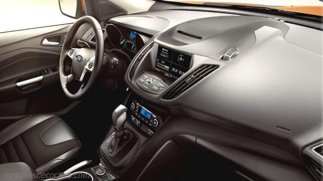 Ford Eclipse 2013 >> Medidas Ford Kuga 2013, maletero e interior