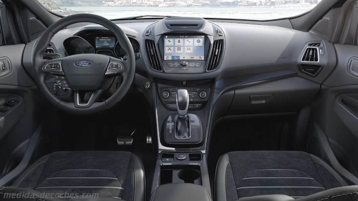Medidas ford kuga 2017 maletero e interior for Interior ford kuga