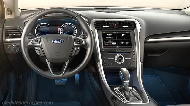 Medidas ford mondeo 2015 maletero e interior for Interior ford mondeo