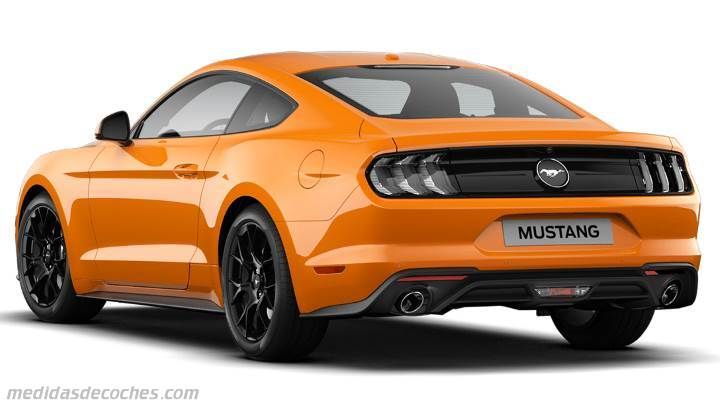 Maletero Ford Mustang 2018