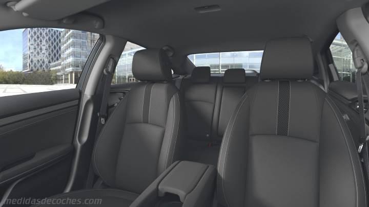 Medidas Honda Civic 4p 2017 Maletero E Interior