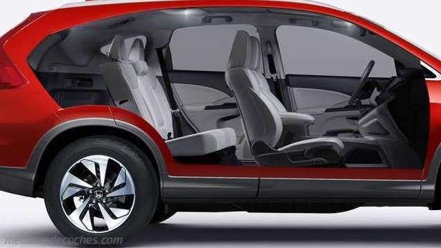 Medidas honda cr v 2015 maletero e interior for Interior honda crv 2014